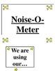 Noise-O-Meter printable