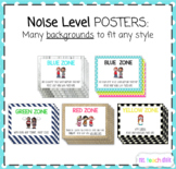 Noise Volume Level Posters