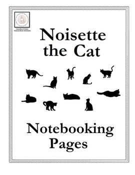 Noisette the Cat Notebooking Pages
