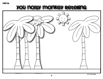 Noisy Monkey Retelling and Readers Theater