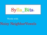 MAP NWEA Prep Reading Multiple Vowels SyllaBits Syllable Slideshow