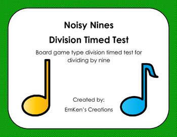 Noisy Nines Division Timed Test