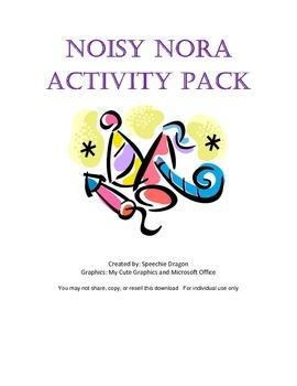 Noisy Nora Activity Pack