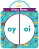 Noisy Notes oi and oy Phonics Game - Words Their Way Game