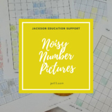 Noisy Number Pictures - Ordinal Number and Ordinal Number Name