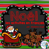 Noël:  French Christmas Themed Literacy Activities