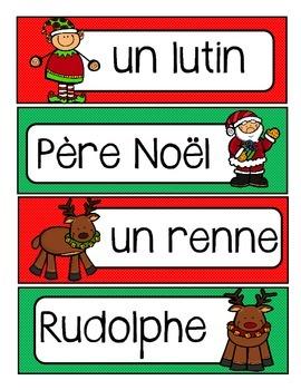 Noël - Mur de mots