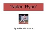 """""""Nolan Ryan"""" by William W. Lance PowerPoint"""