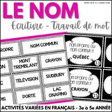 Nom commun et nom propre - Activités variées