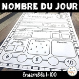 Nombre du jour - les nombres 1-100 (Ensemble) - French Numbers - Bundle