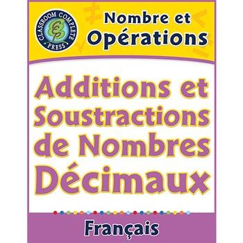 Nombre et Opérations: Additions et Soustractions de Nombre