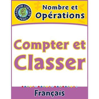 Nombre et Opérations: Compter et Classer An. PK-2