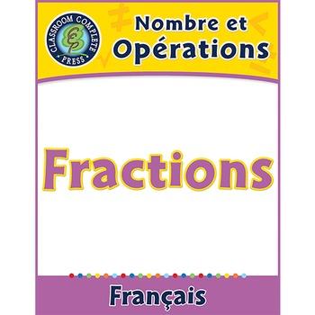 Nombre et Opérations: Fractions An. PK-2