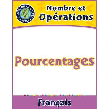 Nombre et Opérations: Pourcentages An. 3-5