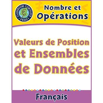 Nombre et Opérations: Valeurs de Position et Ensembles de Données An. 6-8