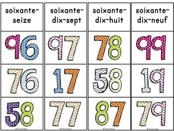 Nombres 0 - 100 - 2 jeux d'association/Ensemble (Numbers) - Bundle