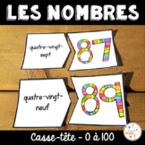 Nombres 0-100 - Puzzles - French Numbers