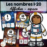 Nombres 1-20 - Affiches - French Numbers - Espace