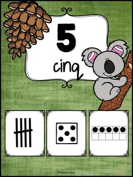 Nombres 1-20 - Affiches - French Numbers - Koalas