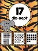 Nombres 1-20 - Affiches - Thème: jungle-safari - French Numbers - Posters