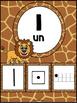 Nombres 1-20 - Affiches - Thème: jungle-safari - French Nu