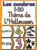 Nombres 1-20 - Puzzles - French Numbers (Halloween)
