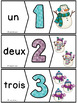 GRATUIT/ Nombres 1-20 - Puzzles - French Numbers - Hiver