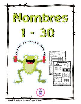 Nombres 1 - 30