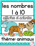 Nombres à 10  French Math and Literacy Centers