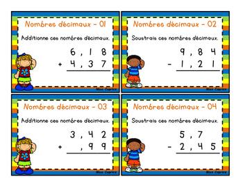 Nombres décimaux - C - 3e année