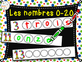 Nombres en lettres 0-20 - French numbers 0-20