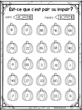 Nombres pairs et impairs
