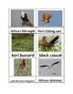 Nomenclature Cards - Animals - Africa - Botswana