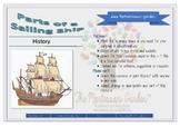 Nomenclature Cards: Parts of a Sailing Ship