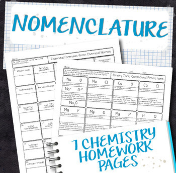 Chemistry Coloring Page Teaching Resources Teachers Pay Teachers