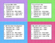 Nominative and Objective Pronoun Case Task Cards