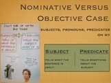 Nominative versus Objective Case (who versus whom) grammar lesson
