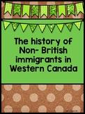 Non-British Immigrants In Western Canada
