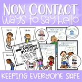 Non Contact Greetings Posters Banners Prompts and a Reader