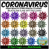 Coronavirus (COVID-19) Clip Art for Personal and Commercial Use