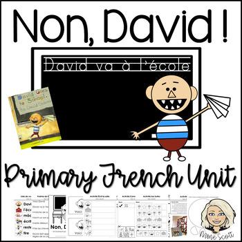 Non David - French Activities & Craft for David va a l'eco