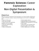 Non Digital Presentation Flyer