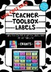 Non-Editable Bunnings Teacher Toolbox Labels