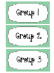 Non-Editable Classroom Labels for Guided Groups