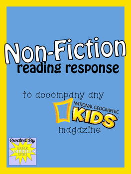 Non-FIction Reading Response