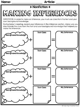Nonfiction Reading Centers | Graphic Organizers for Reading FREE