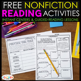 Nonfiction Reading Centers FREE
