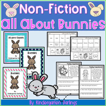 Non-Fiction All About Bunnies: Literacy Unit and Differentiated Emergent Readers