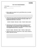 Non Fiction Analysis Worksheet (L)