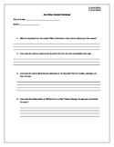 Non Fiction Analysis Worksheet (M/H)